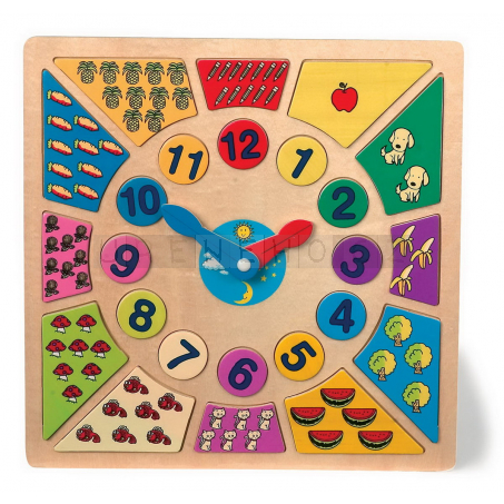 Puzzle Hodiny