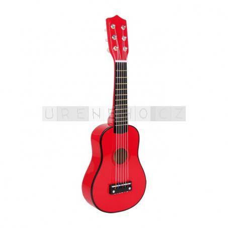 Kytara, červená