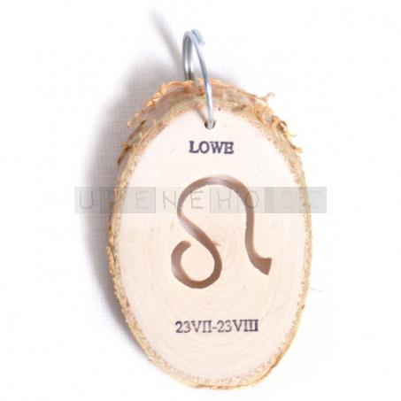 Klíčenka Znamení - Lev (5 kusů v sadě)