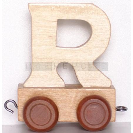 Písmenko vláček R