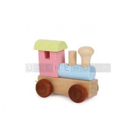 Písmenkový vláček - lokomotiva