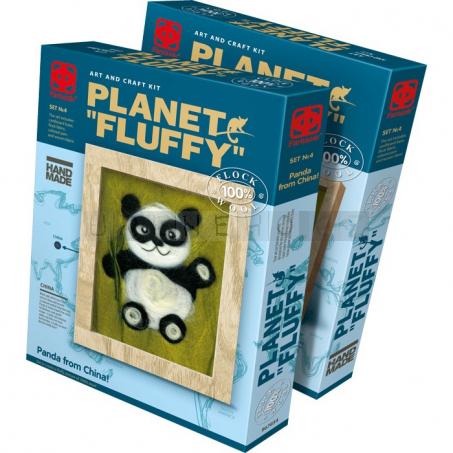 Plstěný obraz Panda