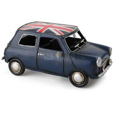 Mini Cooper UK - dekorace Vintage