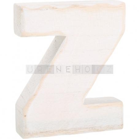 Dřevěné písmeno Z