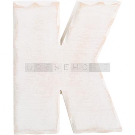 Dřevěné písmeno K