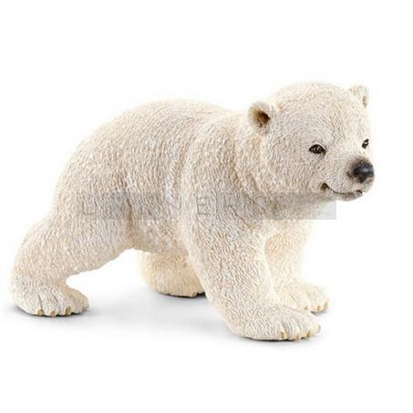 Schleich 14708 Mládě ledního medvěda běžící