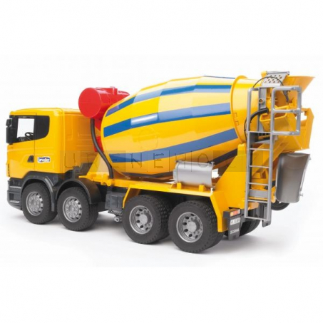 Bruder 3554 SCANIA míchačka na beton [03554]