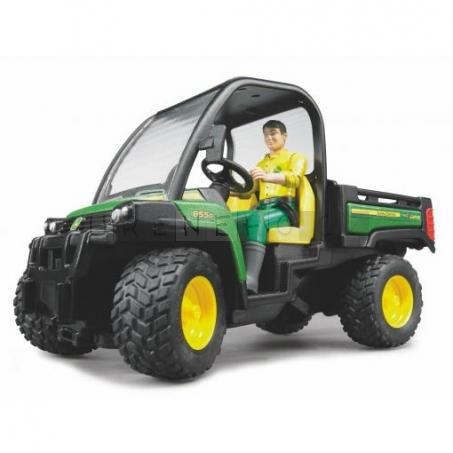 Bruder 2490 John Deere Gator XUV 855D s řidičem [02490]