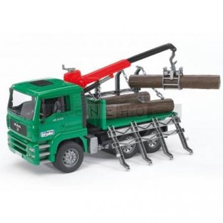 Bruder 2769 Nákladní auto MAN přepravník dřeva [02769]