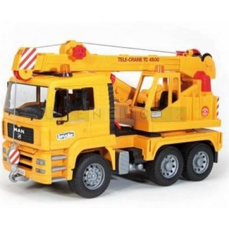 Bruder 2754 Nákladní auto Man jeřáb stavební [02754]