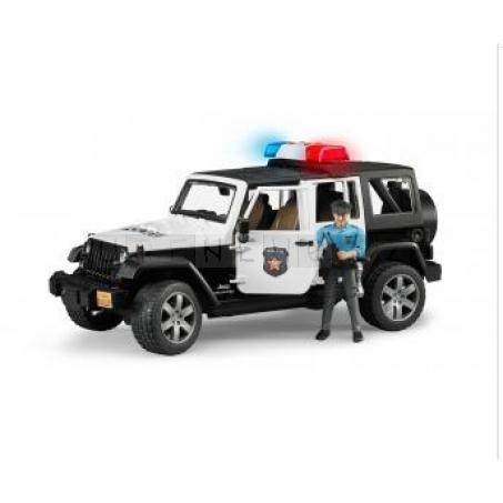 Bruder 2526 JEEP WRANGLER Policie s figurkou policisty [02526]