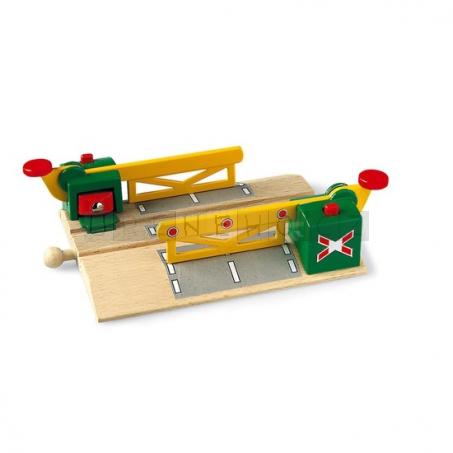 BRIO Železniční přejezd magnetický [33750]