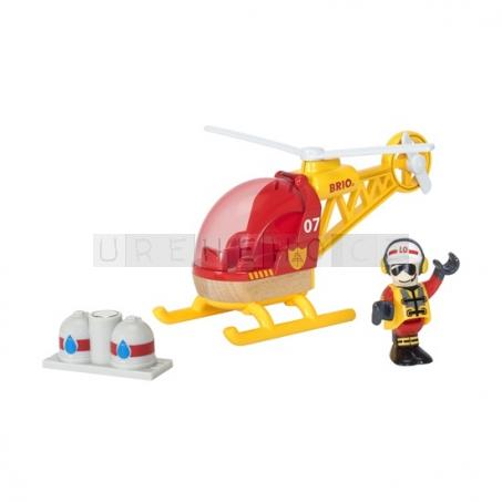 BRIO Vrtulník hasiči [33797]