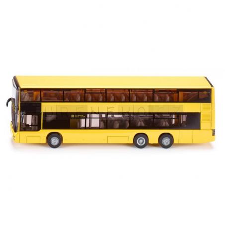 SIKU 1884 SUPER Dvoupatrový linkový autobus MAN, 1:87
