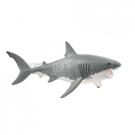 Schleich 14809 Bílý žralok