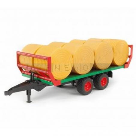 Bruder Přívěs pro přepravu balíků slámy [02220]