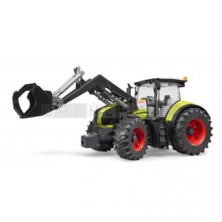Bruder Traktor Claas Axion 950 s předním nakladačem [03013]