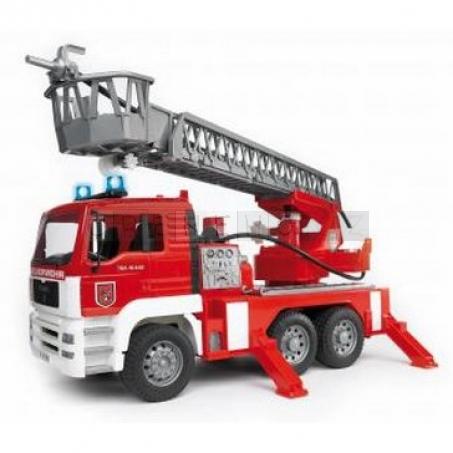 Bruder 2771 MAN požární žebřík s majákem [02771]