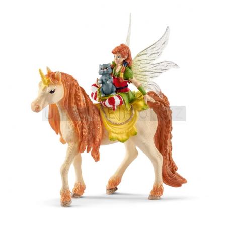 Schleich 70567 Bayala Fairy Marween with Glitter Unicorn [70567]