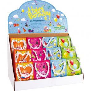 Hrací taška Happy Birthday, 12 kusů
