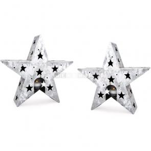 Stojan na čajovou svíčku Hvězda, 2 kusy
