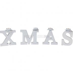 Vánoční svícen X-Mas