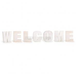Welcome dekorace nápis