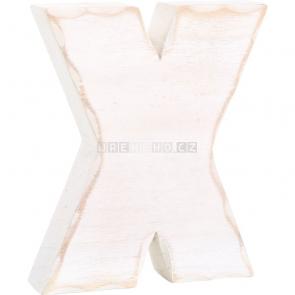 Dřevěné písmeno X