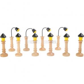 Vláčkodráha - Lampy, 12 kusů
