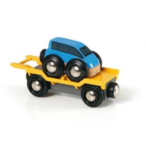 BRIO Přívěs na přepravu aut [33577]
