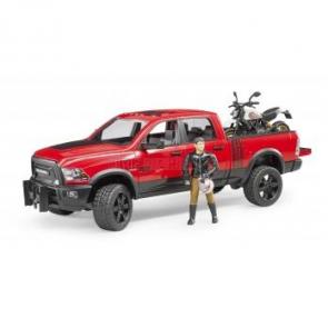 BRUDER 2502 Terénní auto RAM motocykl Scrambler Ducati Desert Sled figurka [02502]