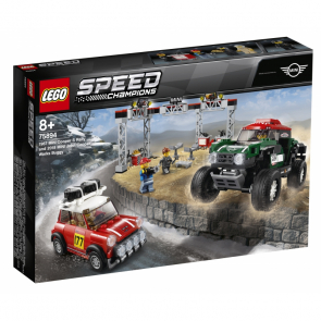 LEGO Speed Champions 75894 1967 Mini Cooper S Rally a 2018 MINI John Cooper Works Buggy [75894]