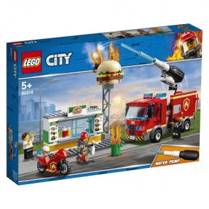 LEGO City 60214 Záchrana burgrárny [60214]