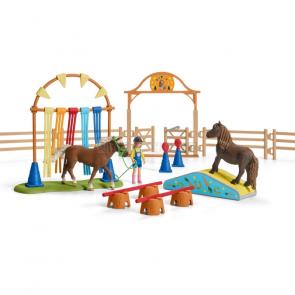 Schleich 42481 Trénink v agility pro pony