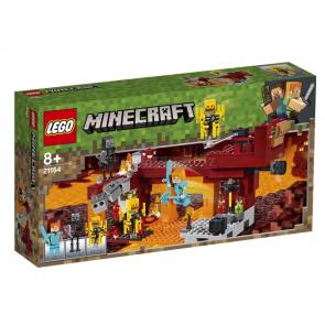 LEGO 21154 Minecraft Most ohniváků [21154]