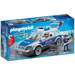 Playmobil 6873 Policejní auto s majákem [6873]