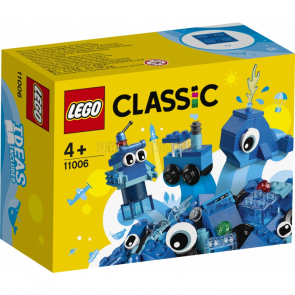 Lego Classic 11006 Modré kreativní kostičky [11006]