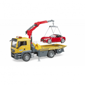 Bruder 3750 MAN TGS odtahová služba + roadster [03750]