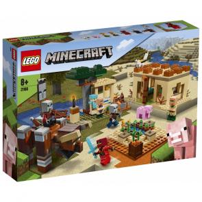 Lego Minecraft 21160 Útok Illagerů [21160]