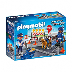 Playmobil 6878 Policejní zátaras silniční kontrola [6878]