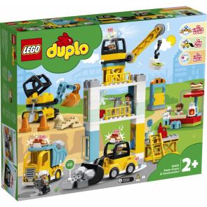 LEGO DUPLO 10933 Stavba s věžovým jeřábem [10933]