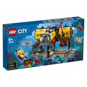 LEGO City 60265 Oceánská průzkumná základna [60265]