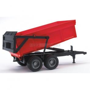 Bruder 2211 Valník s automatickou zadní stěnou červená [02211]