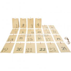 small foot Adventní kalendář papírové taštičky [10210]