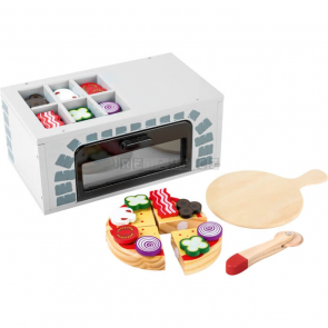 small foot Dřevěná pizza pec s příslušenstvím [11204]