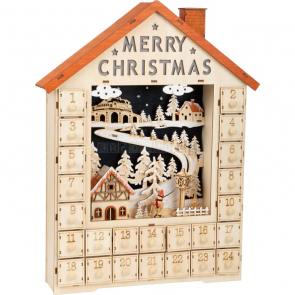 small foot Adventní kalendář veselé Vánoce [11788]