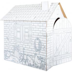 small foot Domeček z kartonu k vymalování [10015]
