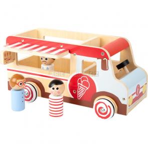 small foot Dřevěný zmrzlinový vůz XL [11457]