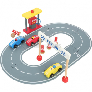 small foot Dřevěná závodní dráha s autíčky [12013]