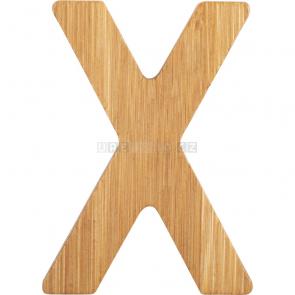 small foot Bambusové písmeno X [12077]